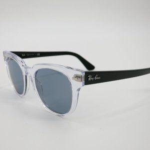 Ray-Ban Black & Clear Meteor Polarized Sunglasses